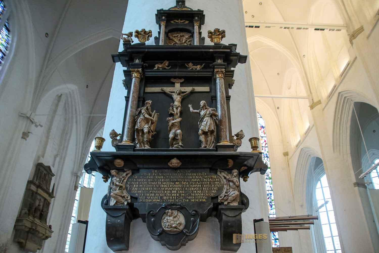 Epitaph Georg v.d.Fechte St. Katharinen Kirche Hamburg 7474
