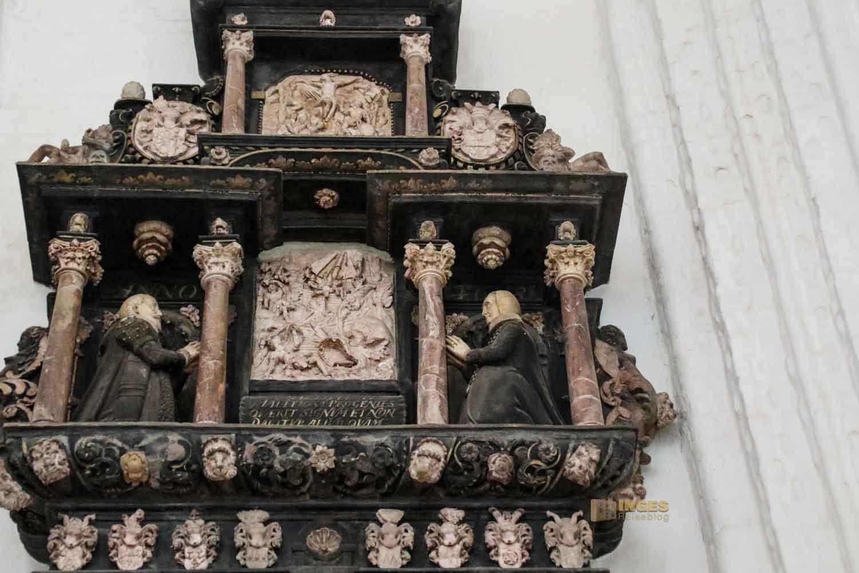 Epitaph Senator Moller Kirche St. Katharinen Hamburg 7546