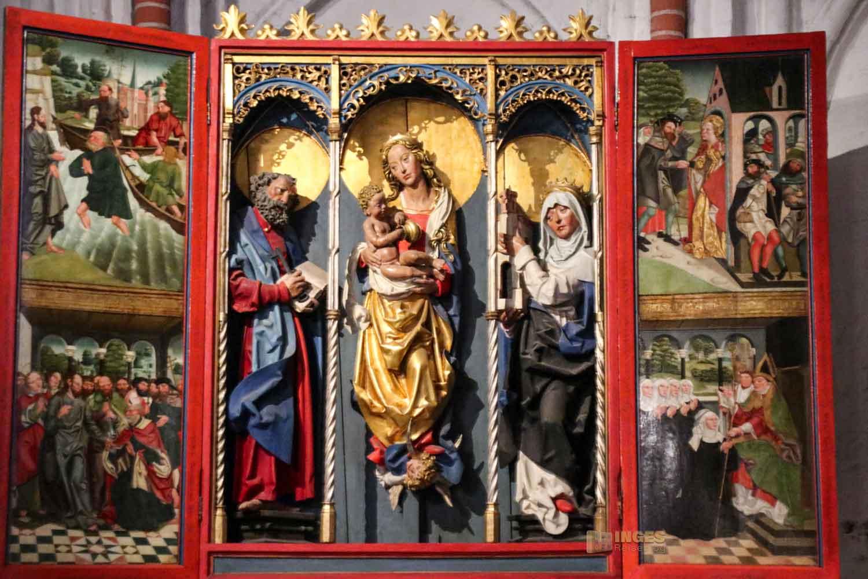Fischeraltar in der Kirche St. Jacobi Hamburg 7145