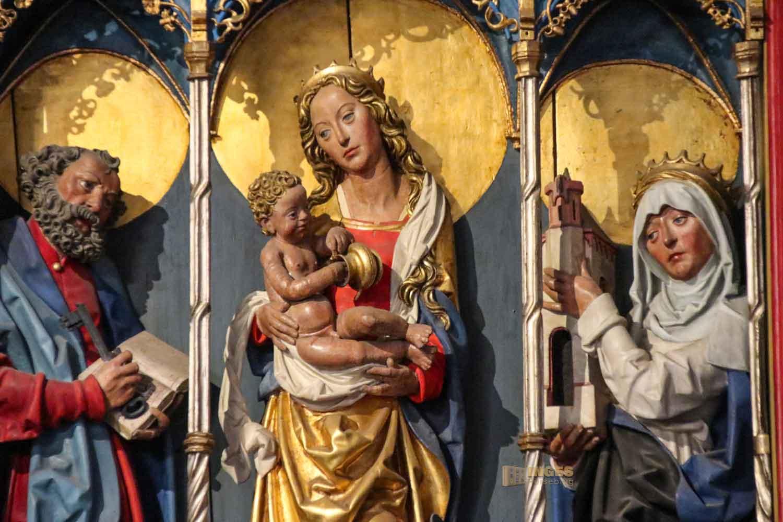 Fischeraltar in der Kirche St. Jacobi Hamburg 7148