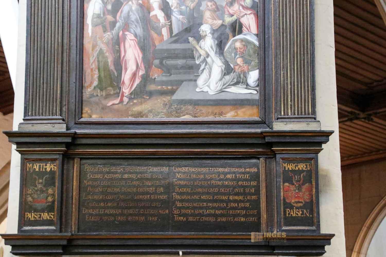 Galbius Epitaph St. Petri Kirche Hamburg 6842