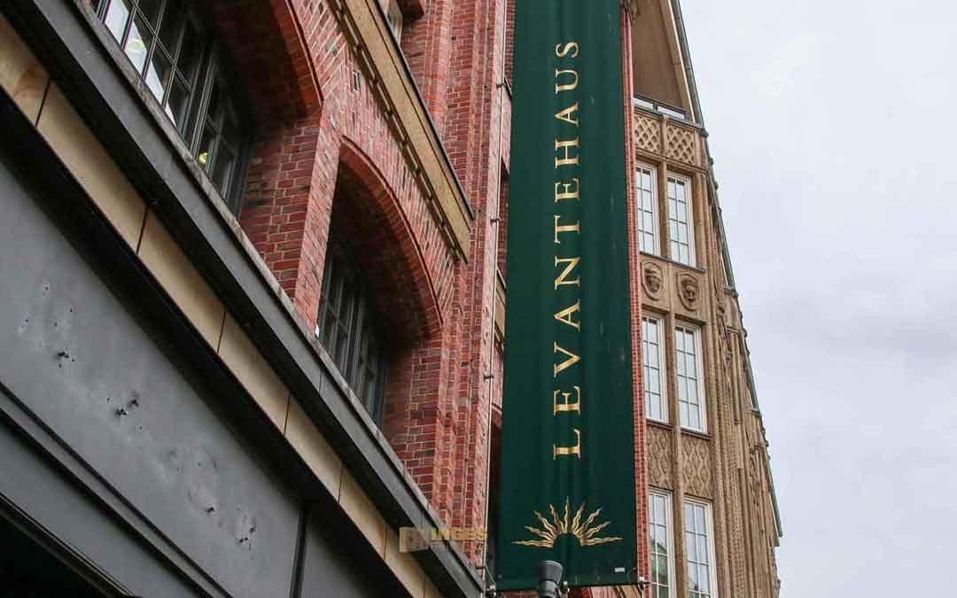 Das Levantehaus in Hamburg