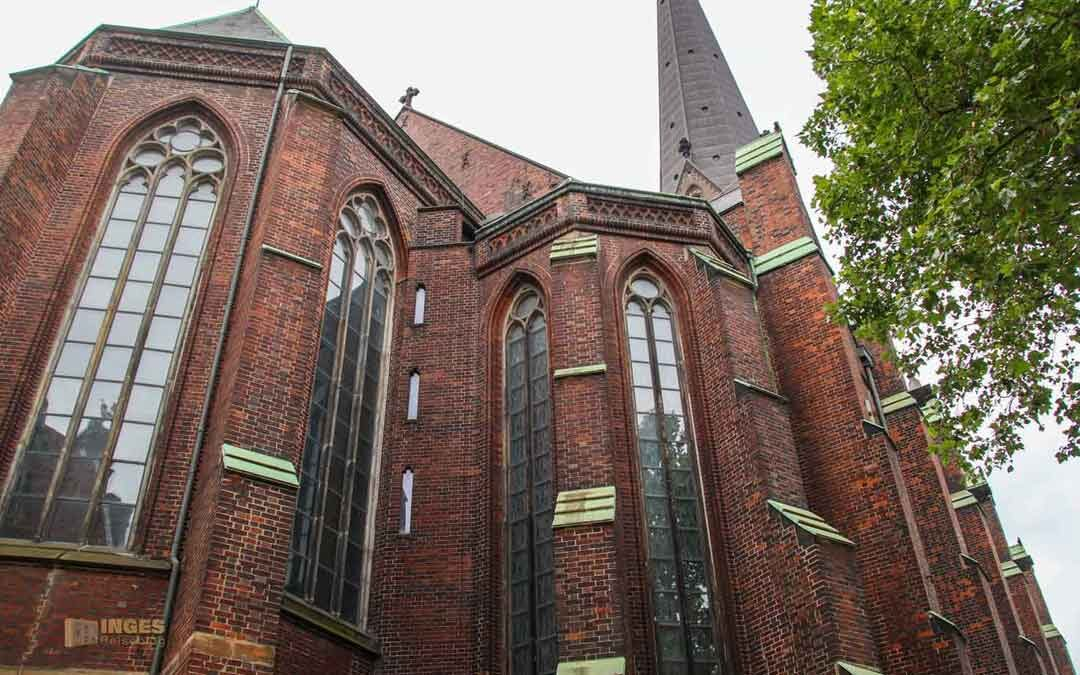 In der Hauptkirche St. Petri in Hamburg