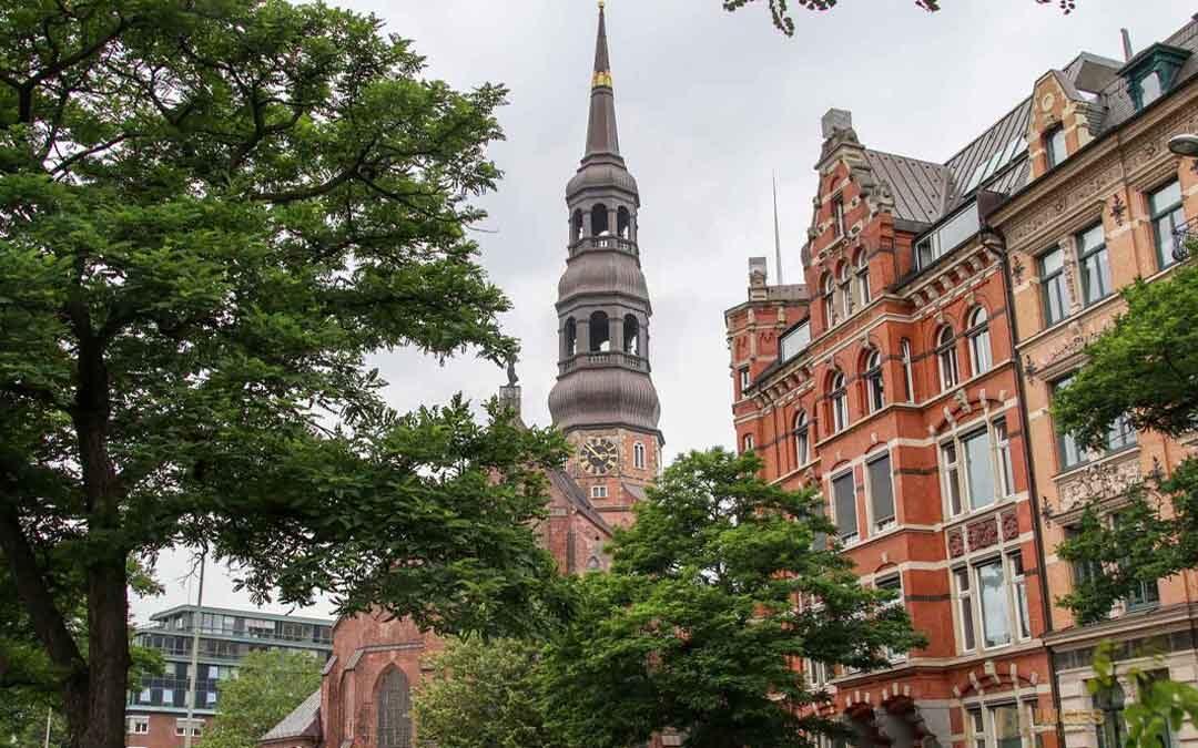 Die Hauptkirche St. Katharinen in Hamburg