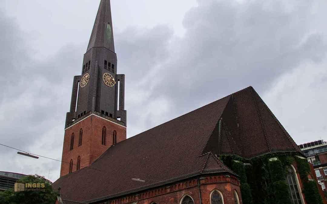 In der Hauptkirche St. Jacobi in Hamburg