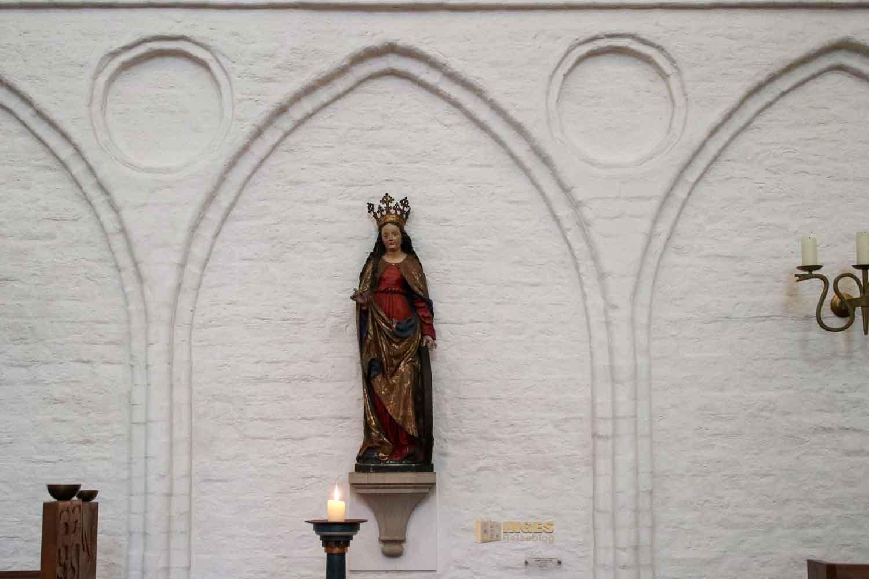 Hl. Katharina in der Kirche St. Katharinen Hamburg 7442