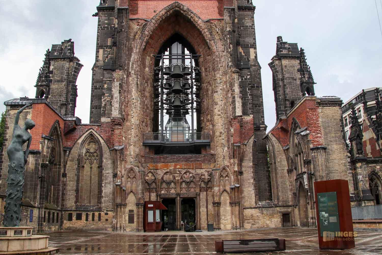 Ruinen der ehemaligen Hauptkirche St. Nikolai Hamburg 7697