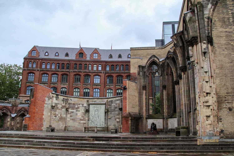 Ruinen der ehemaligen Hauptkirche St. Nikolai Hamburg 7731