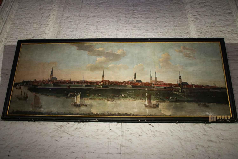 Stadtansicht von Joachim Luhn St. Jacobi Hamburg 7208