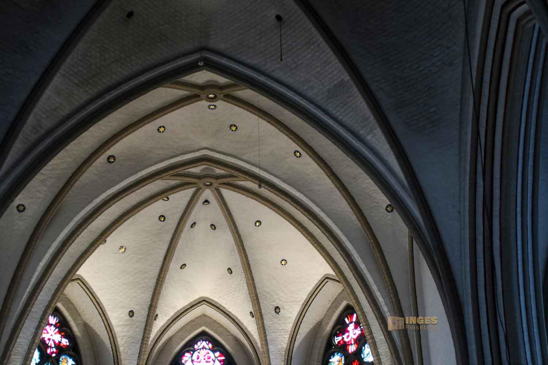 Sternenhimmel Kirche St. Petri Hamburg 6871