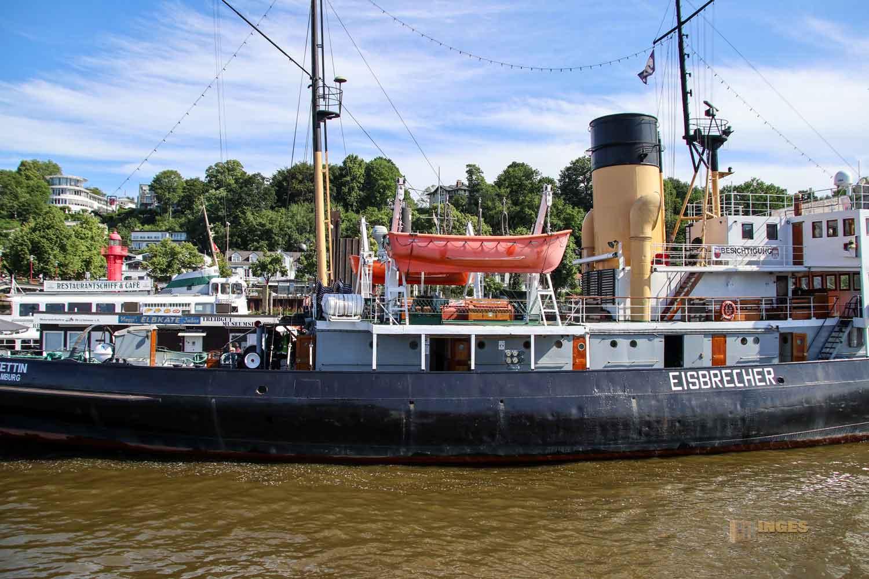 Eisbrecher Stettin Museumshafen Oevelgönne Hamburg 9098