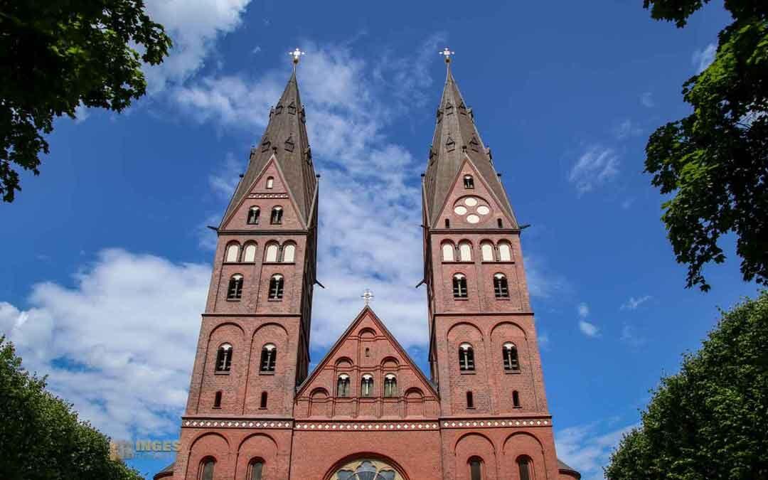 Im St. Marien-Dom in Hamburg