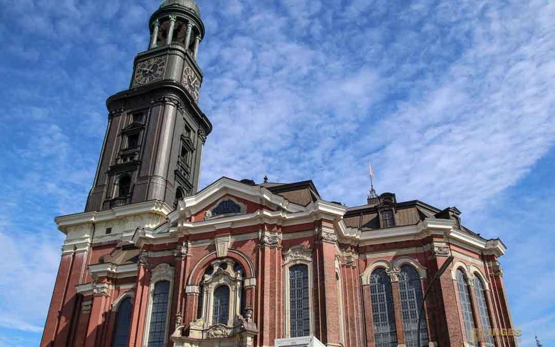 Die Hauptkirche St. Michaelis in Hamburg