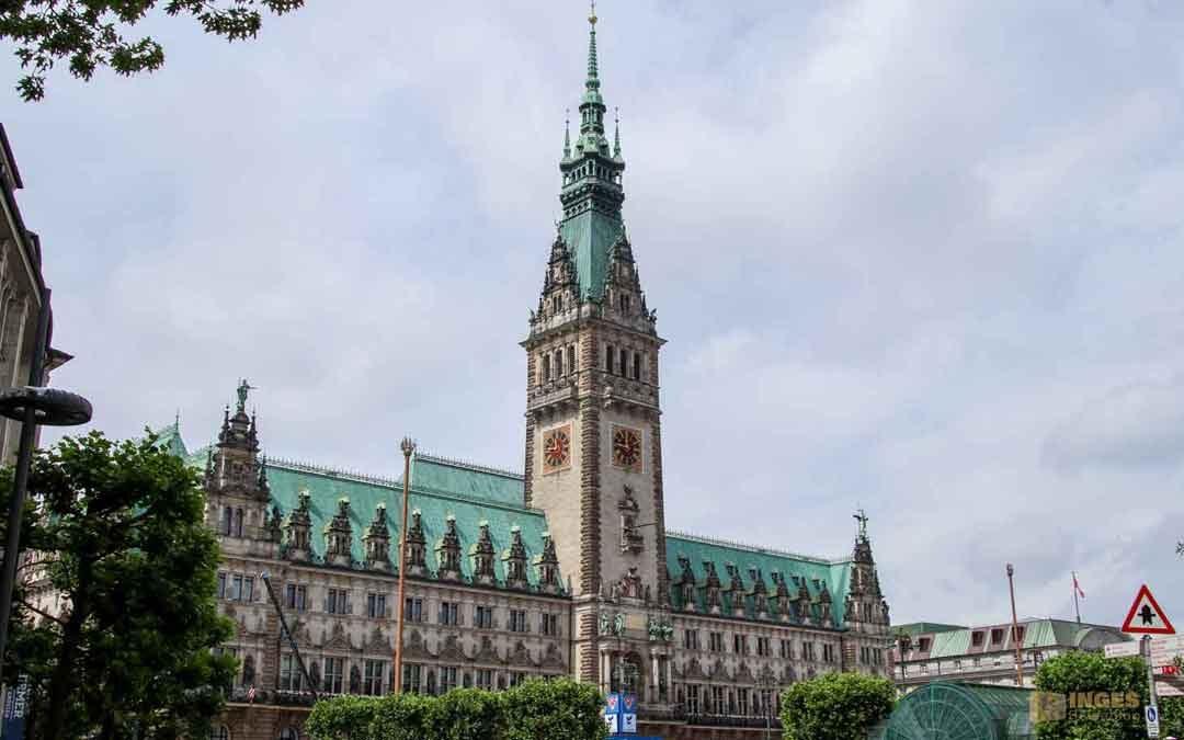 Das Hamburger Rathaus – innen