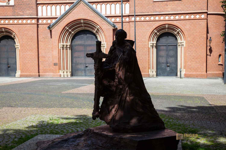 Hl. Ansgar St. Marien-Dom Hamburg 0253-O